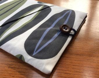 "11"" MacBook Air cover case, geometric retro design with pocket, laptop cover"