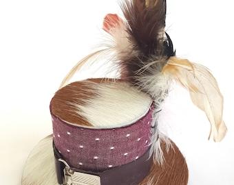 Steam Polka Fascinator/ Mini Hat