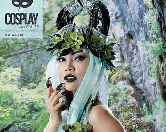 Costume Cosplay headdress M2101 Brand Mc Call's sewing pattern ' S Hornery
