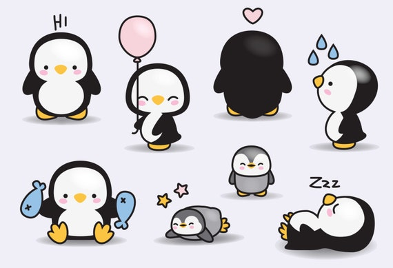 Premium vector clipart kawaii penguins cute penguins clipart set premium vector clipart kawaii penguins cute penguins clipart set high quality vectors instant download kawaii clipart voltagebd Choice Image