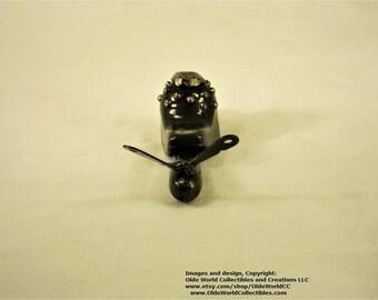 Welded Steel Industrial Steam Sculpture~ Snail Minnie #3