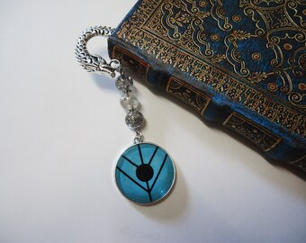 Lagertha's Shield Bookmark - Vikings Shieldmaiden Ragnar Lothbork Rollo Bjorn Floki