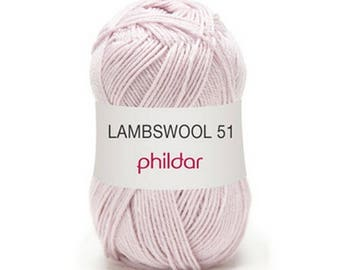 "wool LAMBSWOOL color eglantine ""Garance"""