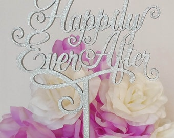 """Wedding Cake Topper """"Happily Ever After"""" Heirloom Quality, ENJOUÉ COLLECTION - CT502"""
