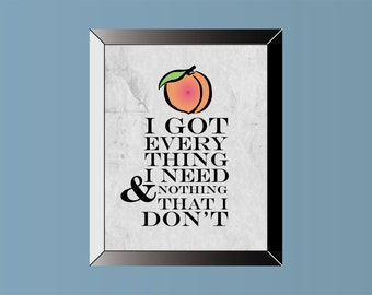 ZAC BROWN BAND Inspired | Poster | Print | 11 X 14