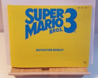 NES Super Mario Bros 3 -  Replacement Manual