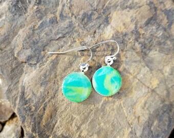 Sea Breeze Earrings / gift idea  / One of a kind