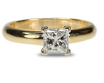 GIA Certified Princess Cut Diamond