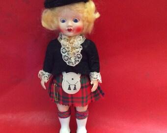 "Scottish doll by ROGARK 6"" high [15 cms]"