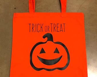 Reusable Child's Halloween Trick or Treat Bag