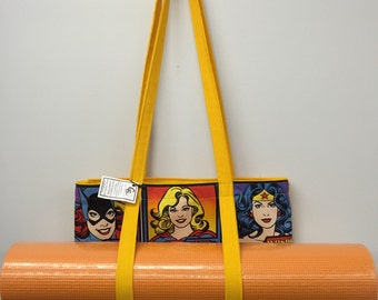 Supergirl Carry All Tote_Yellow