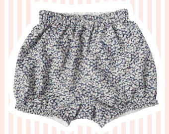 Liberty Corduroy Mini Bloomers | Bubble Shorts for Baby | Pablo