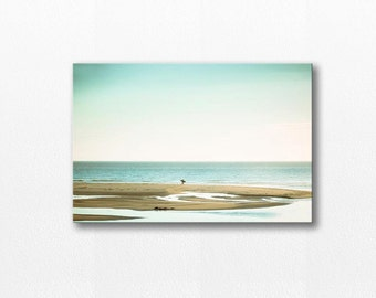 nautical decor beach canvas art 12x12 24x36 large beach photography canvas print ocean gallery wrap fine art photography canvas wrap coastal
