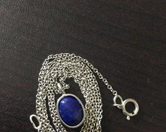 Gemstone Pendant in Sterling Silver