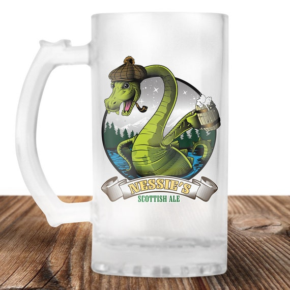 Lochness Monter Beer Stein- Ol Nessies Scottish Ale -Lochness Monster