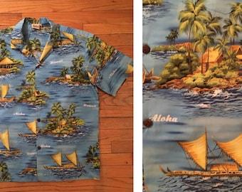 Vintage Hawaiian Aloha Shirt by Royal Creations