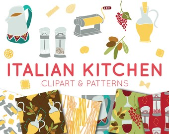 Food Clipart & Digital Paper