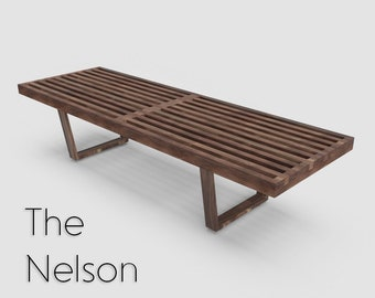 Wooden bench | Etsy