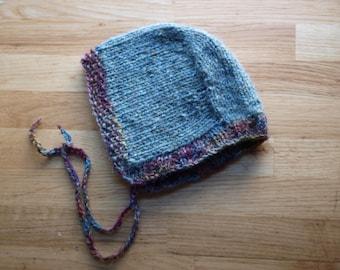 Wool Newborn Bonnet