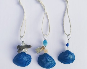 Handmade Seashell Ornaments