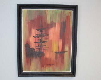 Anchors of Autumn Original Painting by Keith Sellards