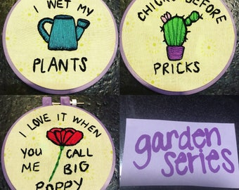 Garden Series Hand Embroidery