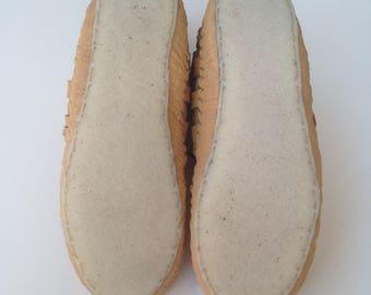 Crepe rubber sole