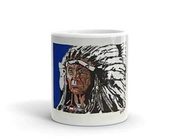 Red Cloud Coffee Mug