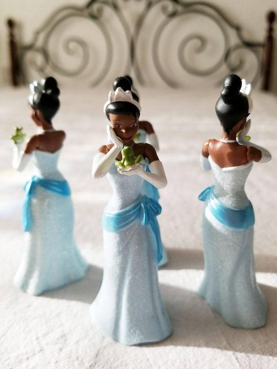 Disney Princess Tiana Figurine - Disney Tiana Cake Topper, Princess ...
