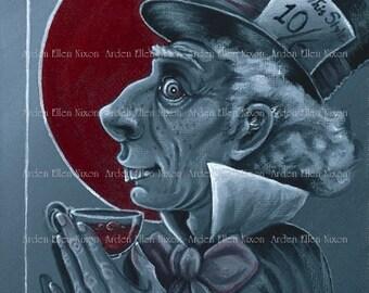 Mad Hatter Original Acrylic Painting