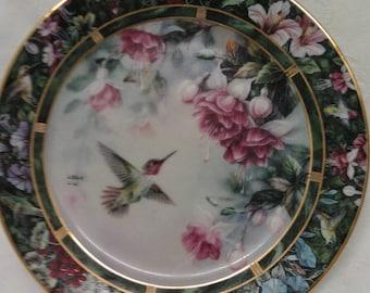 The Anna's Hummingbird Plate