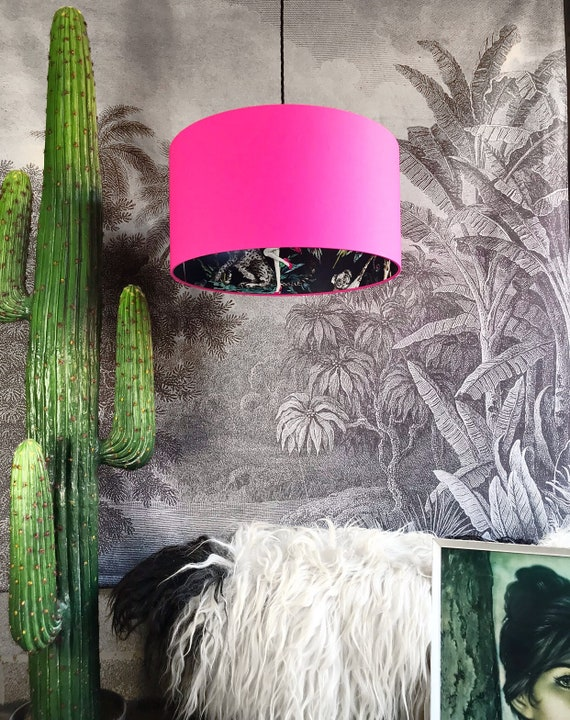 Chimiracle Dark silhouette lampshade in LOVE FRANKIE X MnB