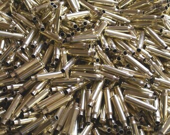 223/5.56 Once Fired Brass 200 + Pieces. Perfect for Jewelry and Crafts. Range Brass, Supplies, Crafting, Steampunk, DIY