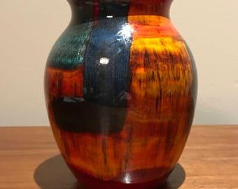 Vintage Poole Pottery England Gemstones Vase
