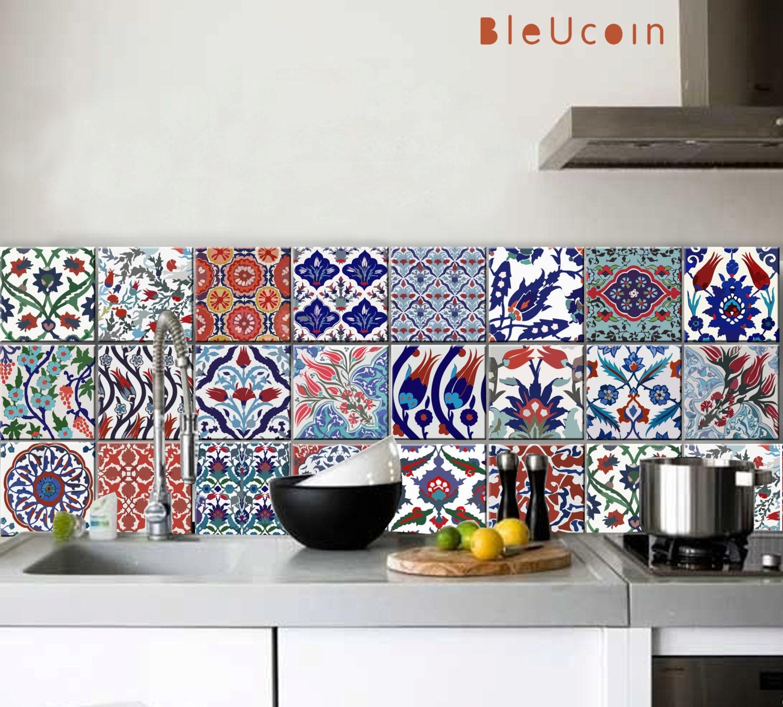 Charmant Kitchen Tiles Decals