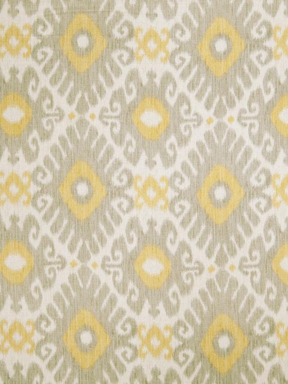 91+ Yellow Home Decor Fabric - HD236 Geo Swirls Geometric Yellow ...