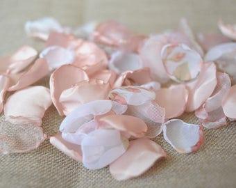 Blush petals rose wedding petals pink petals wedding singed petals wedding decoration aisle petals rose wedding toss wedding confetti