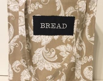Sewing Tutorial - Reusable Shopping Bag Bread Bag - Plus Free Rotary Cutting Tutorial