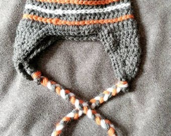 Stripped hat, boy, girl, man, woman