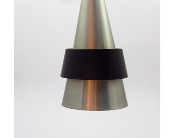 Corona pendant Danish vintage design ceiling light and one of the earliest designs of Jo Hammerborg.