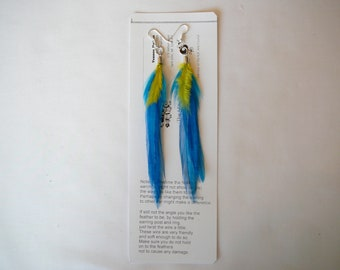 Feather Earings ....... By TheMyCollection2
