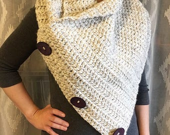 Crochet cowl, Extra Large Cowl, Womens Cowl, Cowl neck scarf