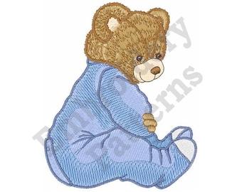 Bedtime Bear - Machine Embroidery Design