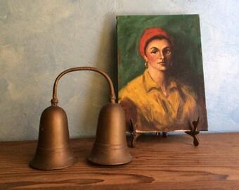 Sarna Bells - Butler Bells Vintage Bells of India - Brass Bell - Novelty Bell