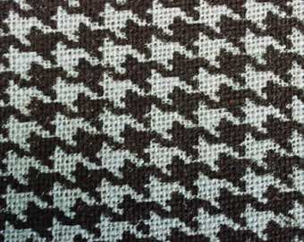 "Burlap Print Houndstooth Billow - 60"" x 20 Yards"
