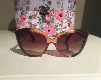 Alexander McQueen's cat eye sunglasses