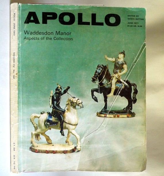 Apollo (Magazine) Vol. CV No. 184  June 1977 London Art Architecture Design