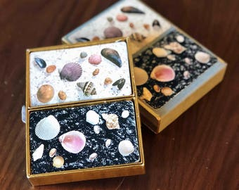 Vintage Seashell Playing Card set- 2 decks