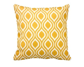 7 Sizes Available: Yellow Cushion Cover Yellow Throw Pillow Cover Yellow Pillow Cover Chevron Pillow 20x20 Pillow 17x17 Pillow