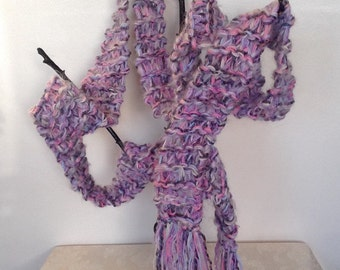 Extra Long Scarf. 9ft Long Skinny Scarf.